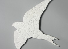 Wall bird white