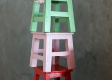 Stool in colours